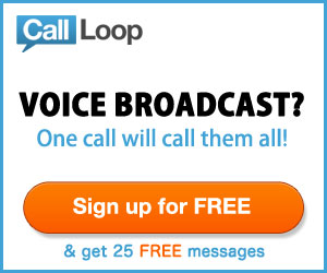 Call Loop Voice Broadcast