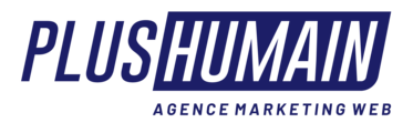 Plus Humain - Agence Publicitaire Lead Tracking Logo