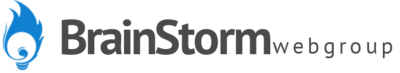 Brainstorm Web Group Lead Tracking Logo