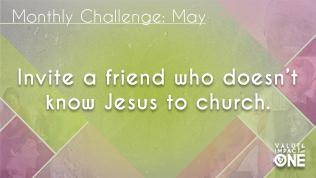 May Challenge