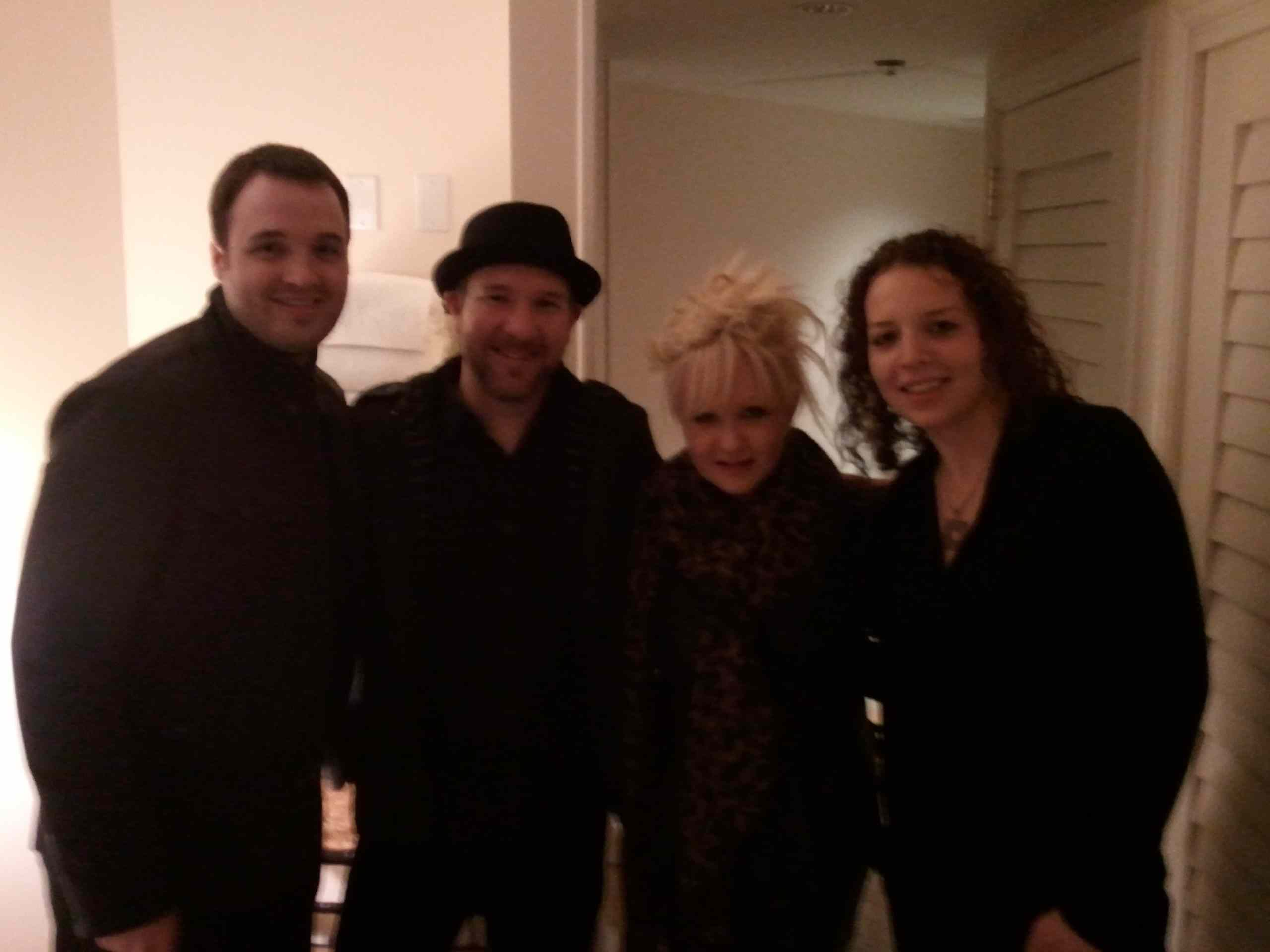 LA Horns with Cindy Lauper