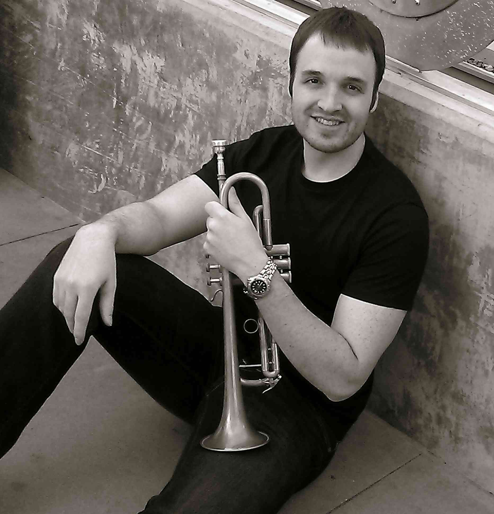 Cameron Summers, trumpet and piano lessons from professional instructor/teacher