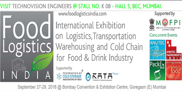 We are glad to invite you to of Food Logistics India