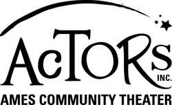 Actors logo bw