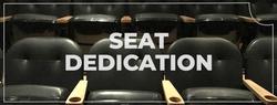 Seat dedication