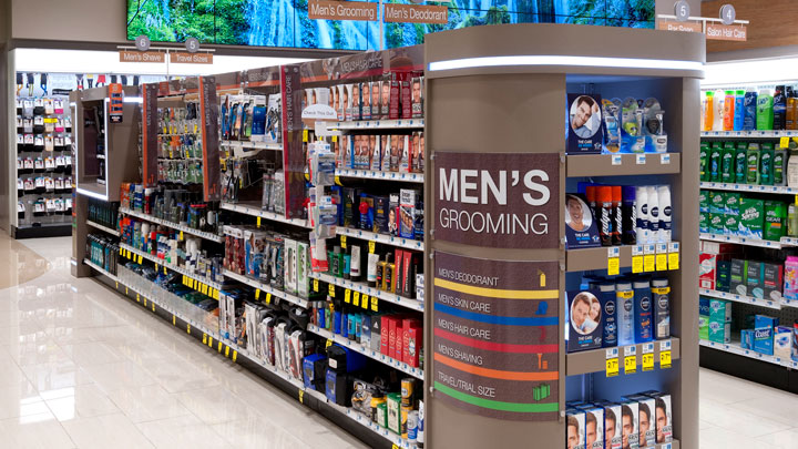 rite aid mens and womens sections