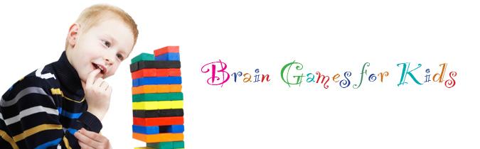 Brain games for kids .