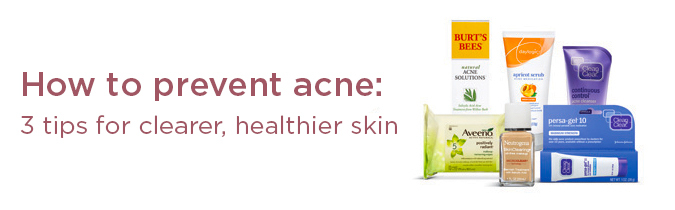 How to prevent acne.
