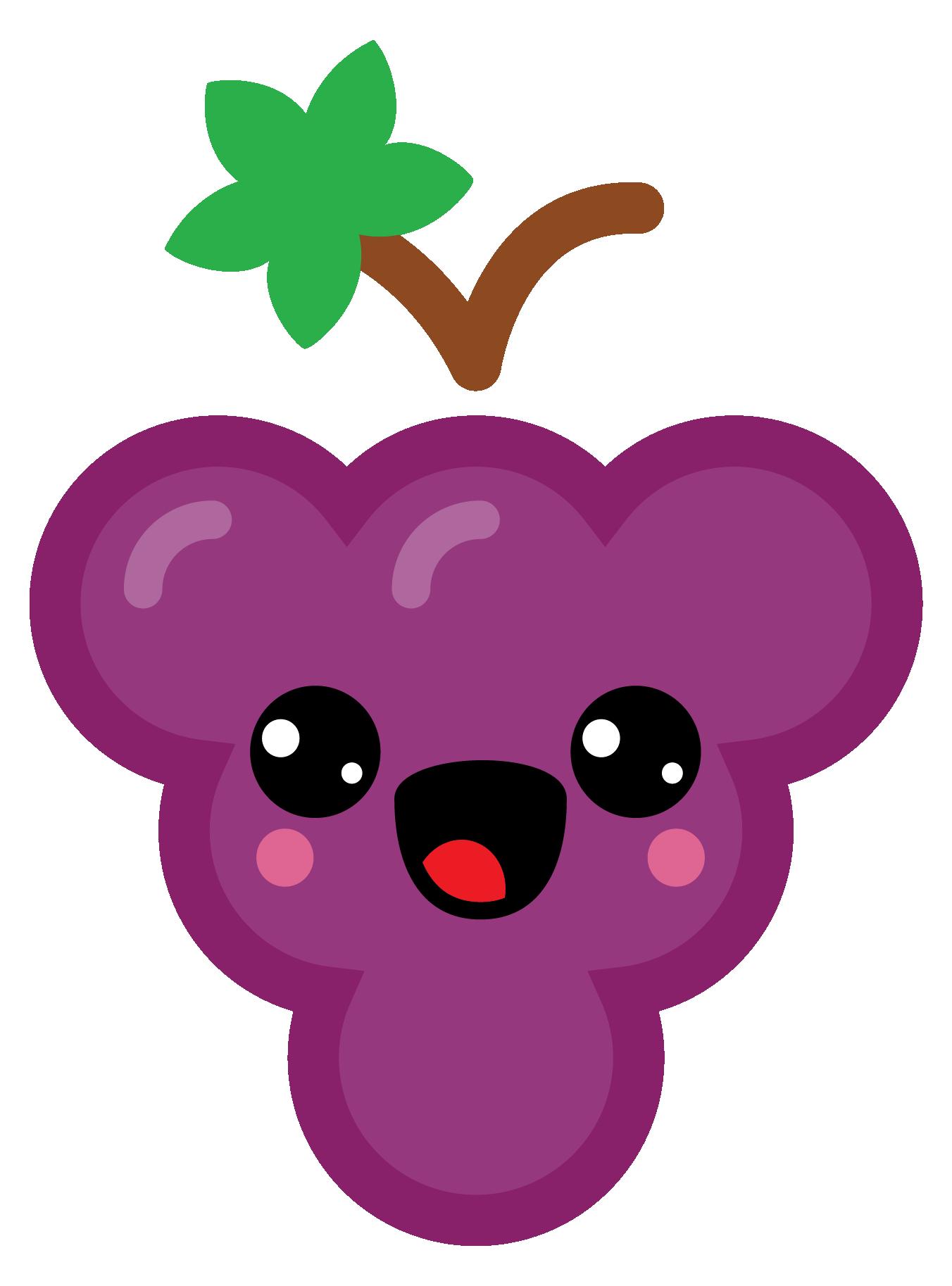 cartoon icon of fruit