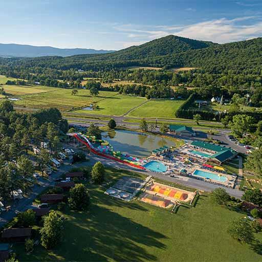 Yogi Bear's Jellystone Park™ Camp-Resort of Luray, Virginia.