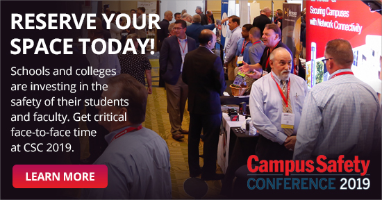 Campus Safety Conference 2019 Call for Sponsors