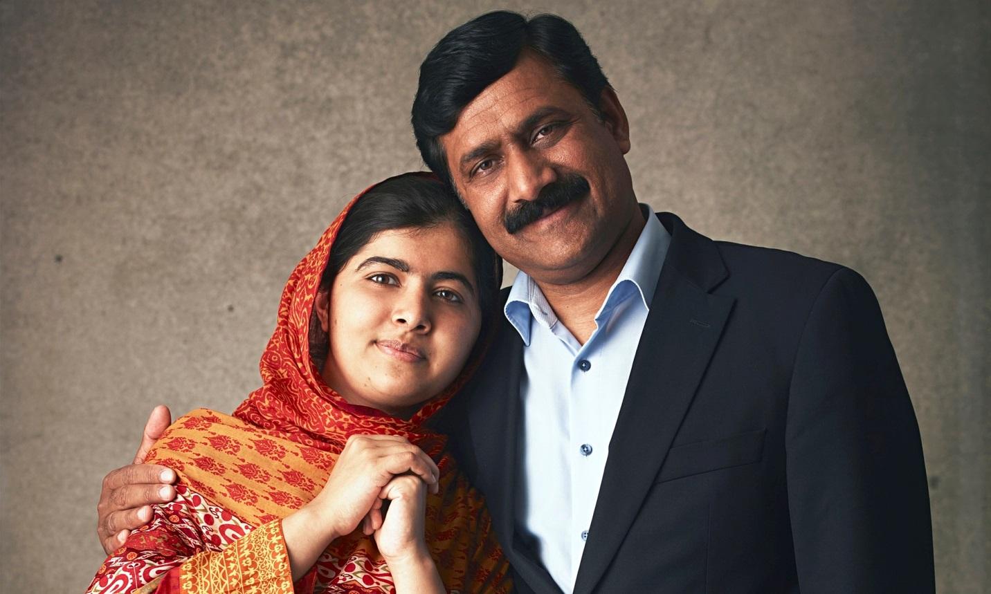 Malala+Dad
