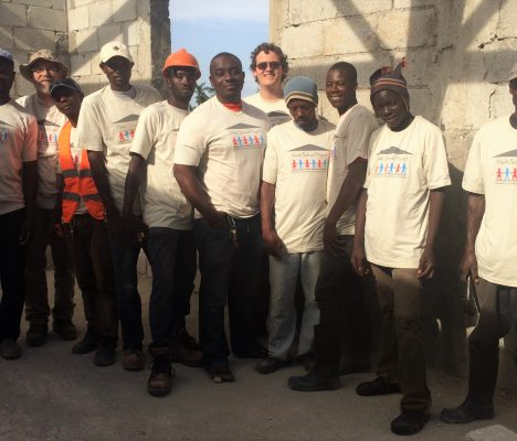 On the ground in Haiti and fighting extreme poverty: Rob's summer internship.