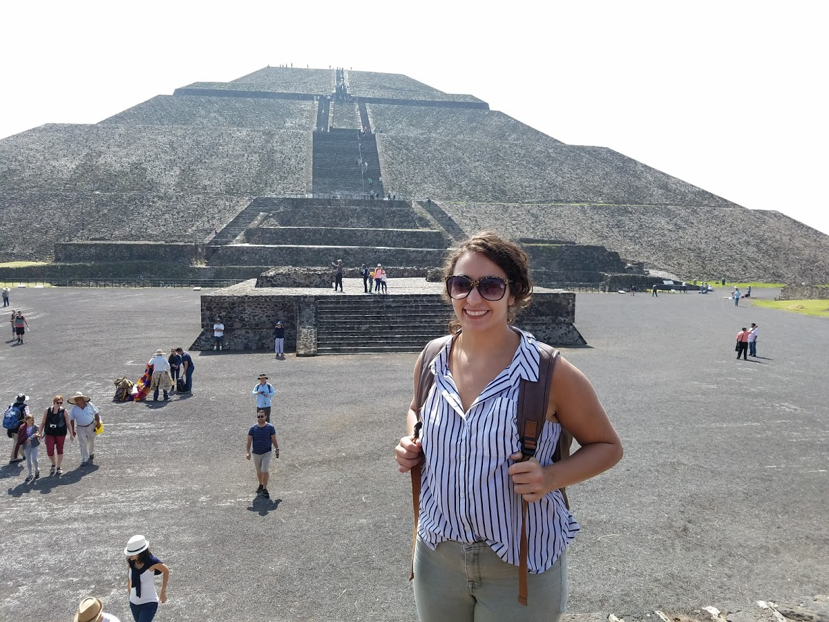 A visit to Teotihuacan!