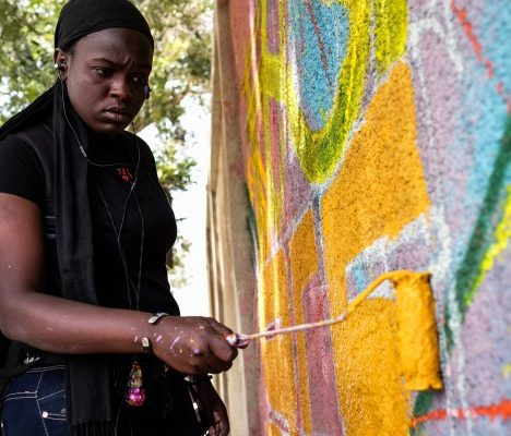 Meet Dieynaba, Senegal's first female graffiti artist fighting for change
