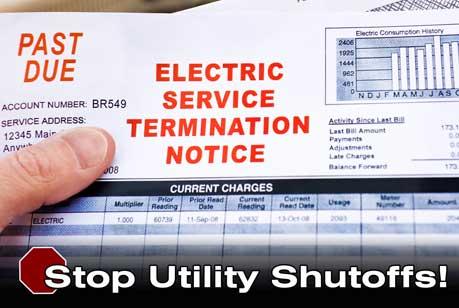 electric bill shutoff notice