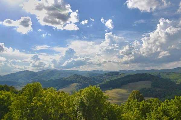 Southwest Virginia on a sunny day