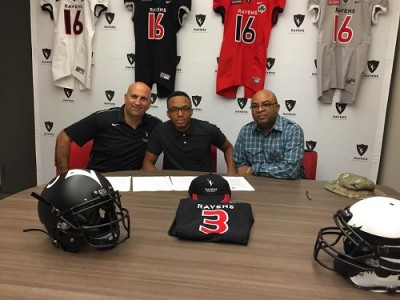 """""""Explosive"""" Ontario recruit """"feels at home"""" with Ravens"""