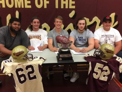 2016 Huron Heights Warriors Signing Day