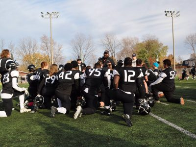 Photo credit: Cure-Antoine-Labelle Wolves Football