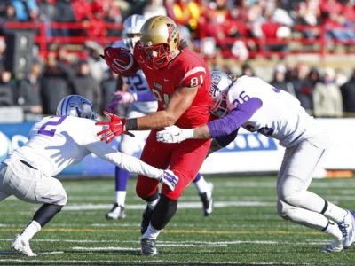 Pro day for Rouge et Or, Auclair