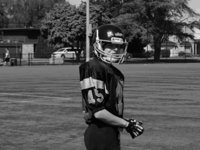 Fox 40 Prospect Challenge (West Coast): On the schoolyard is where 'Skinner' found football