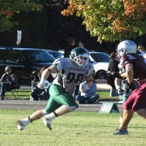 CFC100 Desrochers makes life difficult for opposing quarterbacks