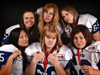 Team Alberta competitors from Calgary Rage (Candice Ward Photography)