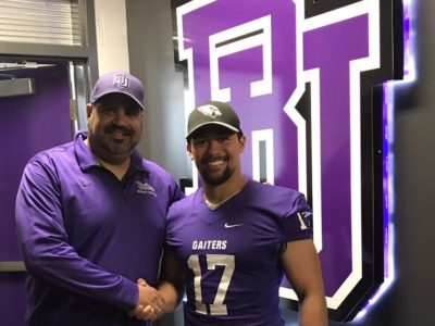 Bishop's Gaiters' commit ready to contribute to team