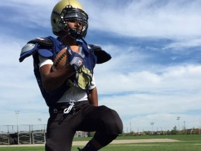 "Fox 40 Prospect Challenge (Central): WR Budhram says ""nothing can compare to football"""