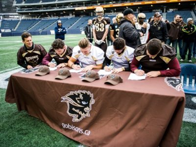 Trio of Winnipeg recruits keep talent local, join Manitoba Bisons
