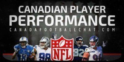 NFL Canadian Performances (14): T.J. Jones aides in team win