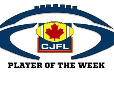 CJFL Playoff Players of the Week