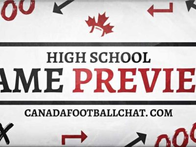 High school game preview (ON – SIMCOE) Week 5 wraps up with all-Barrie Catholic matchup