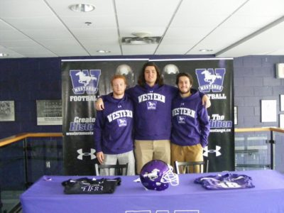 Western Mustangs a hotbed for local talent, adds 3