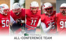 SFU: Gatland GNAC Freshman of Year, Cobb All-Conference 2nd Team