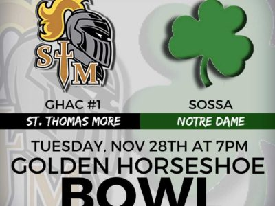 OFSAA Festival 2017 game PREVIEW: Local top ten programs collide under the lights with St. Thomas More taking on Notre Dame in the Golden Horseshoe Bowl
