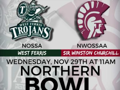 2017 OFSAA Festival game PREVIEW: Bragging rights are on the line between West Ferris and Sir Winston Churchill in the Northern Bowl
