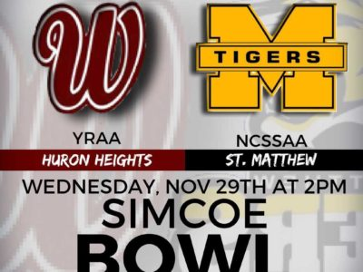 OFSAA Festival 2017 game PREVIEW: Huron Heights hoping to continue their legacy against a confident bunch from St. Matthew in the Simcoe Bowl