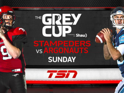 GREY CUP: Argos stun Stamps in late comeback