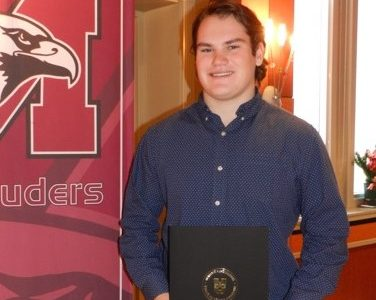 EDWARDS: Jack Richardson, Academic All Canadian, Marauder