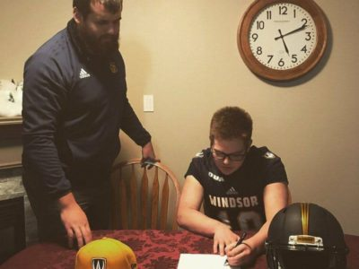 Windsor Lancers' coaches 'have great energy,' says commit