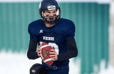 Multisport QB Damon Dutton tears it up on turf, wreaks havoc on the hardwood