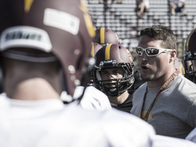 Concordia Stingers front man, Mickey Donovan, off to the CFL as special teams coordinator