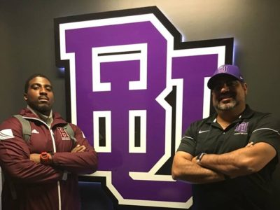 'Never give up, never quit,' says Bishop's commit