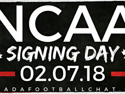2018 Canadian NCAA Signing Day Tracker