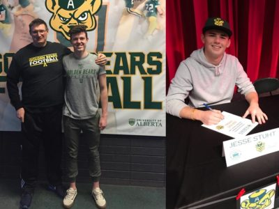 Commits found opportunity with UofA Golden Bears