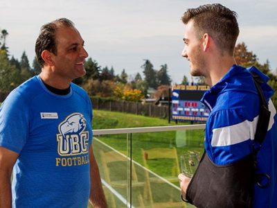 How David Sidoo helped set an example at UBC