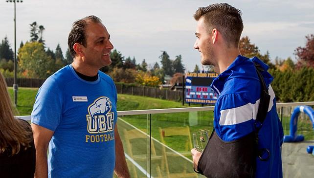 How David Sidoo helped set an example at UBC