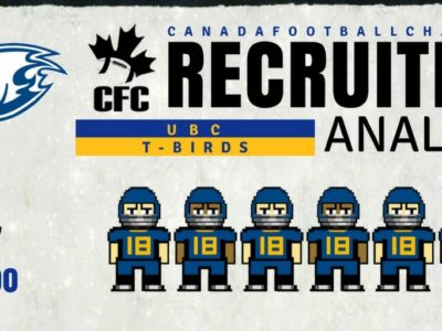 U Sports Recruiting Analysis (CanWest): UBC refuels with six CFC100s